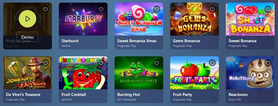 Casinoin games
